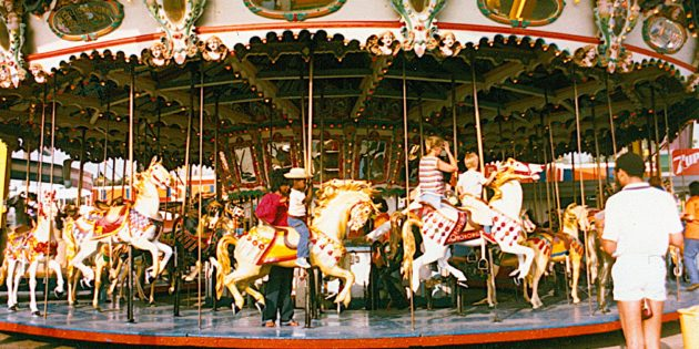 Western Train Co. restoring carousels