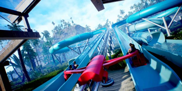 New hybrid coaster and waterslide from Wiegand Water Rides