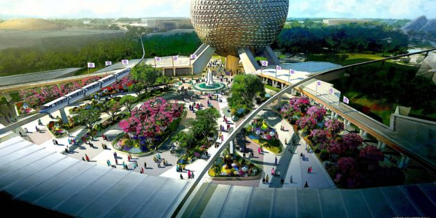 New play pavilion coming to Epcot