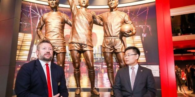 Manchester United creates new experience for fans in China