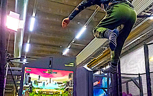 Super Stomp Trampolines open in USA