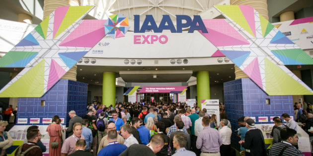 Largest attendance in IAAPA Expo history