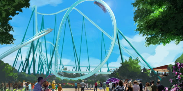 Dive Coaster set for SeaWorld San Diego