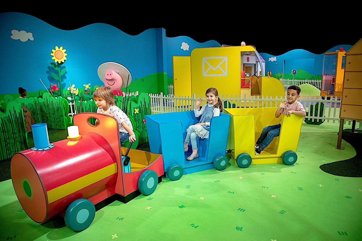 Merlin Entertainments Launches First Us Peppa Pig World Of Play Park World Online Theme Park Amusement Park And Attractions Industry News