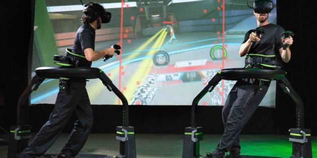 Virtuix and Funovation release VR Arena