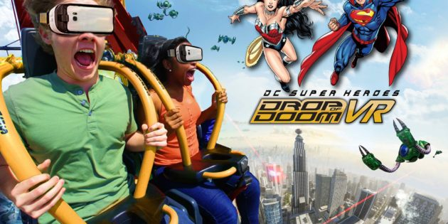West Coast's tallest Drop Tower debuts super hero VR experience