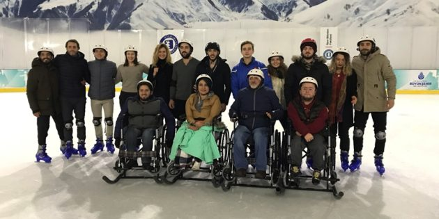 """We're Overcoming the Barriers on the Ice Rink"" event a success"