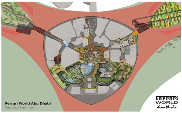 Ferrari World Map.Ferrari World Abu Dhabi Update Park World Online Theme Park