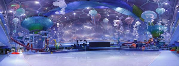 Watercube Waterpark opens in Beijing