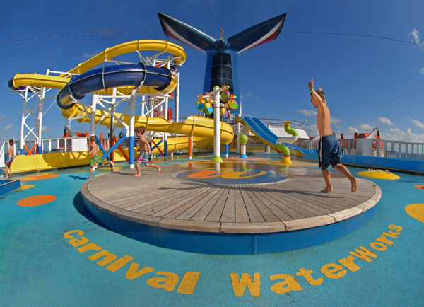 Cruise Ship Waterparks : Park World Online