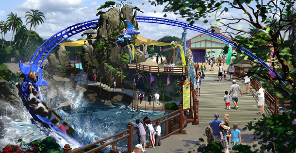 Mack Manta for SeaWorld San Diego