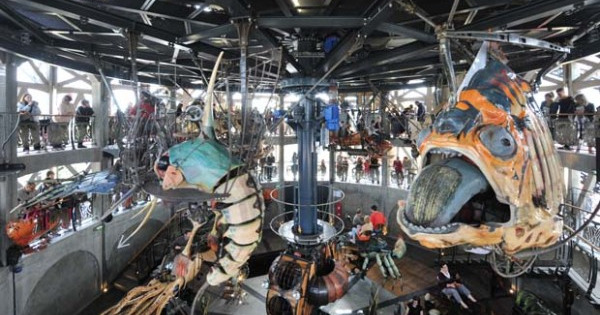 Curious carousel opens in France