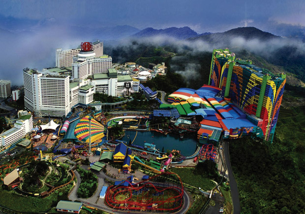 The existing Genting Highland site