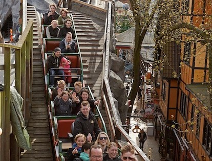 Tivoli coaster ready for peak season!