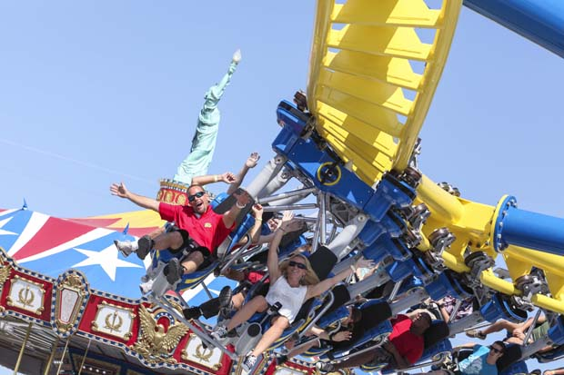 Freedom Flyer – part of the $25 million expansion made last season at Fun Spot America, Orlando
