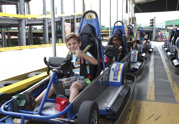 It all started with a go-kart track – and they are still going strong at both parks