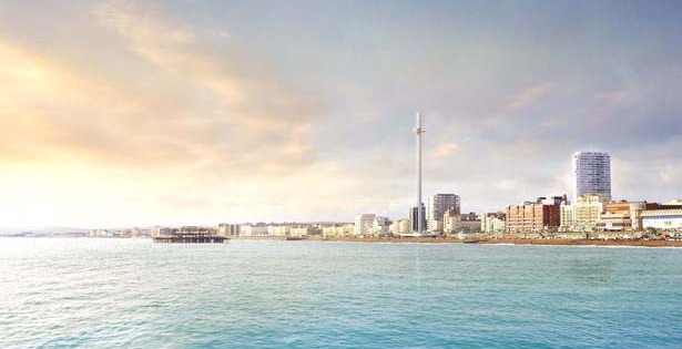 Brighton observation tower back on track?