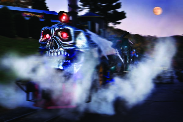 How's THIS for a Ghost Train?