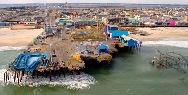 Shock and shore – Hurricane Sandy wreaks havoc at US coastal parks