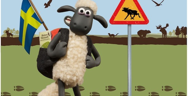 Shaun the Sheep comes to Sweden