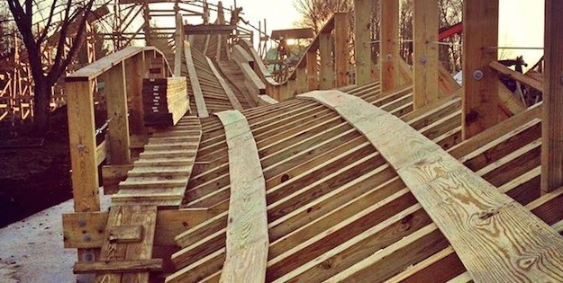 Timber – here comes Walibi's new woodie!
