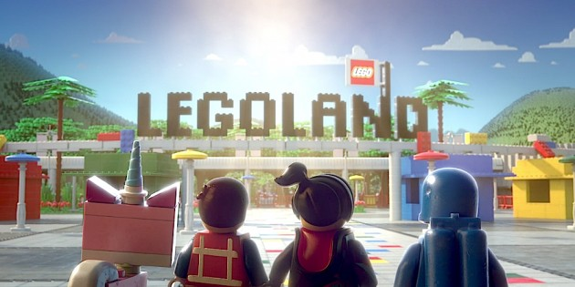 'Legoland' stars in new 4D film