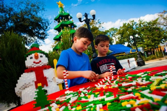 WINTER HAVEN -- LEGOLAND Florida celebrates the holidays with its third annual Christmas Bricktacular every Saturday and Sunday in December. (PHOTO / LEGOLAND Florida, Chip Litherland, Merlin ENtertainments Group)