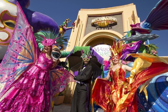 Universal Orlando Resort is home to the biggest, best Mardi Gras party in the country – and it comes straight from New Orleans to you through April 23. Nationally renowned musical acts combine with an authentic Mardi Gras parade, dozens of colorfully costumed performers, authentic Cajun cooking and hand-picked New Orleans bands to capturethe look, feel and fun of New Orleans – all inside Universal Studios Florida. © 2011 Universal Orlando Resort. All rights reserved.