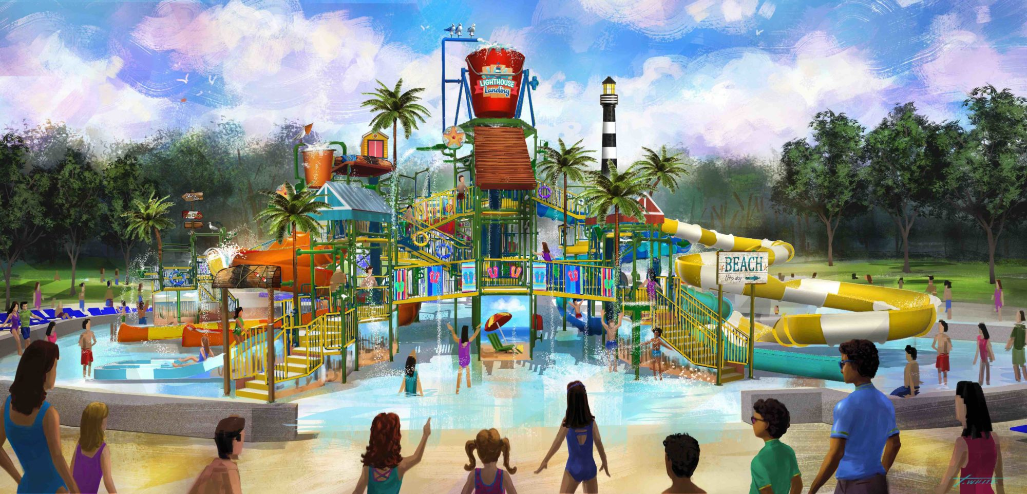 Kings Dominion Water Park To Make Big Splash In 2020 Park World Online Theme Park Amusement Park And Attractions Industry News
