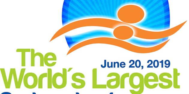 World's largest swimming lesson celebrates 10th Anniversary on June 20