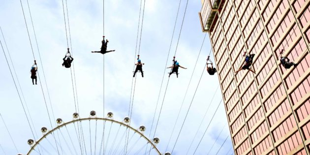 Fly Linq Offers Four Ways to Zipline