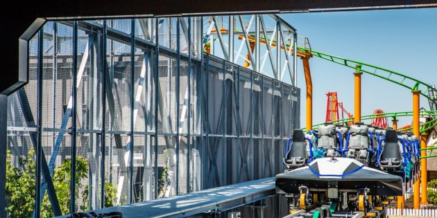 Energylandia's Hyperion debut takes riders out of this world