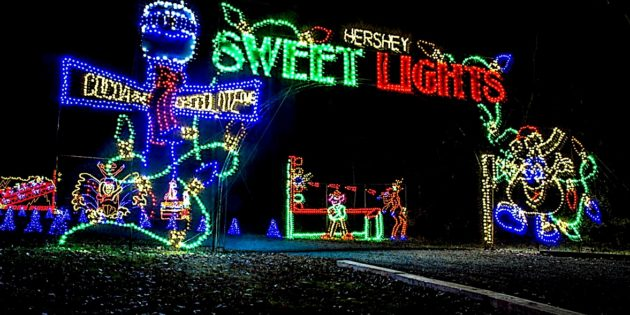 Celebrate the holidays in Hershey