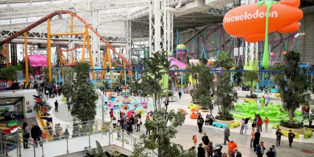 Nickelodeon Universe and The Rink Open at American Dream