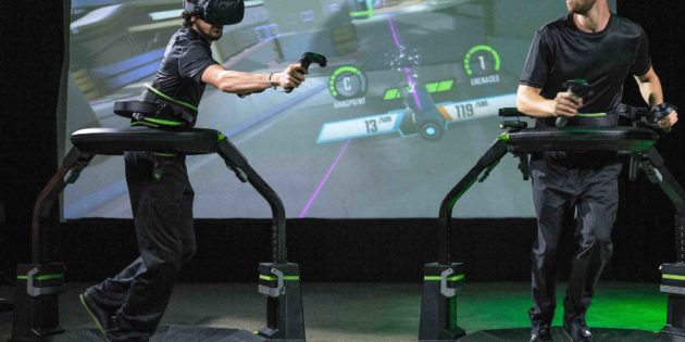 Virtuix unveils Elite Force for Omni Arena