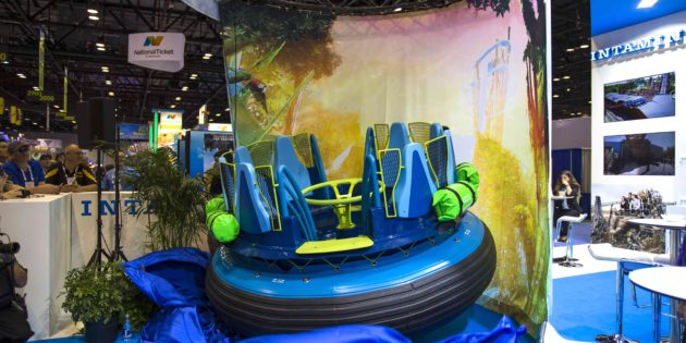 SeaWorld Orlando unveils custom raft for Infinity Falls