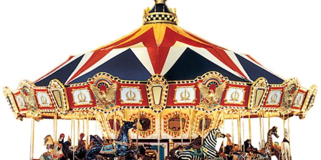 New Carousel for Arnolds Park