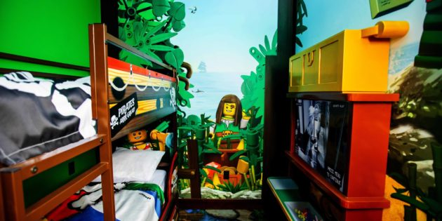 First look at Legoland Pirate Island Hotel