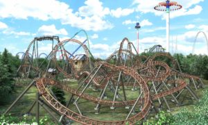 Carowinds to Add Copperhead Strike Double Launch Coaster