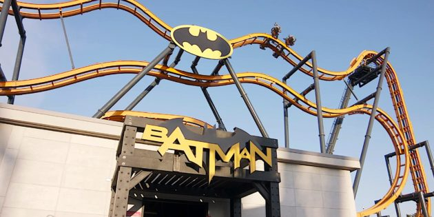 Batman: The Ride opens at Six Flags Discovery Kingdom
