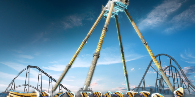 A roaring new thrill set for 2019 debut at Djurs Sommerland