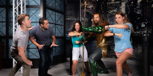 Aquaman makes a splash at Madame Tussauds Orlando