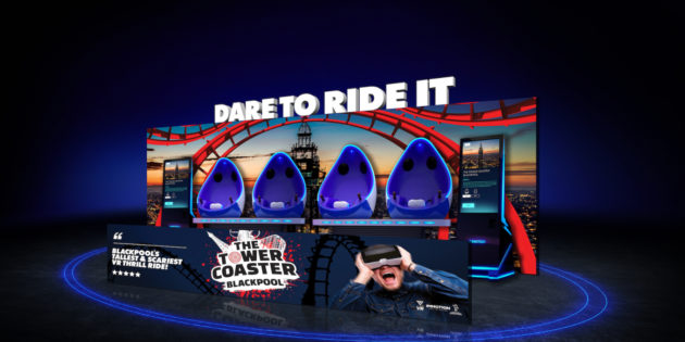Blackpool Tower gets new VR ride