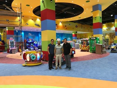 Embed completes installation at Fun City's 50th store location in  Oasis Mall, Salalah, Oman
