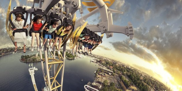 Stockholm slam – new tower ride will send Gröna Lund guests back to earth with a bang