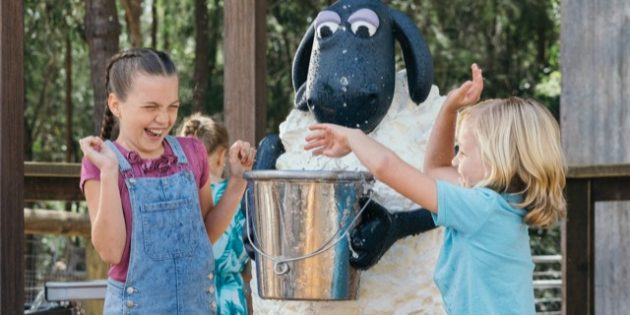 Shaun the Sheep has flocked to Paradise Country!