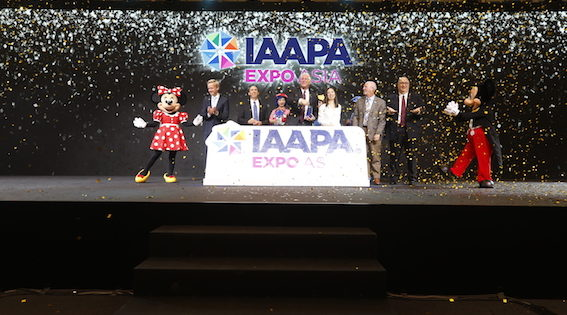 Record breaking numbers for IAAPA Expo Asia