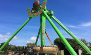 White-knuckle ride Sky Force nearing completion