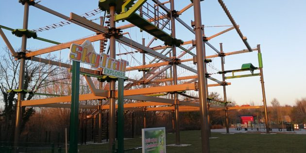 Innovative Leisure adds new ropes course to Denmark's Universe Park