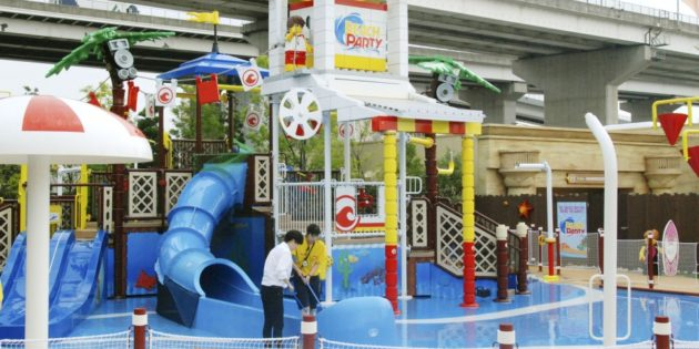 Legoland Japan introduces new cool water play area